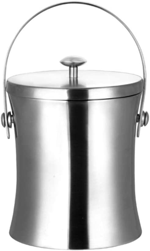 Recommendation WZNING Ice Bucket Double Walled side with Steel Stainless handle Max 59% OFF