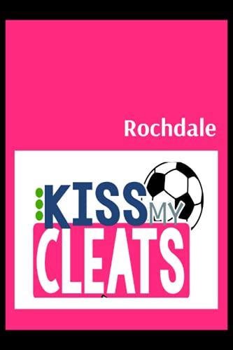 Rochdale: Blush Notes, Rochdale FC Personal Journal, Rochdale Football Club, Rochdale FC Diary, Rochdale FC Planner, Rochdale FC