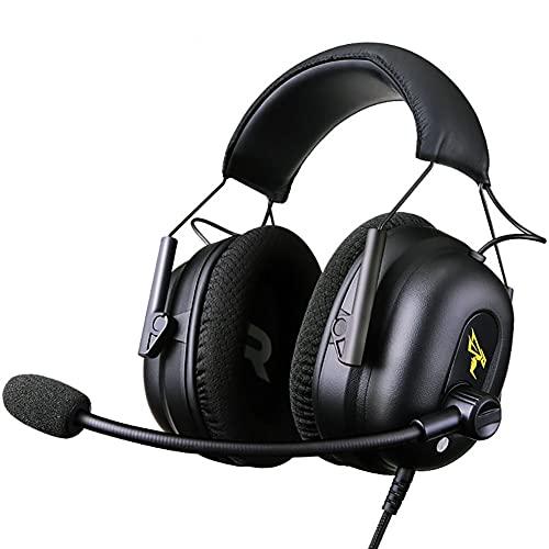 High Fidelity Gaming Headset - Hi-Res-Lautsprecher-Treiber - DTS-Kopfhörer: X v2.0 Surround für PC