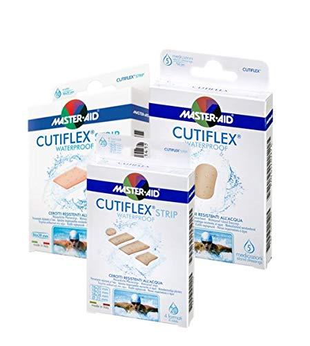 Vorteilspack, Wasserfeste und transparente, sensitive Pflaster, CUTIFLEX® MASTER AID (3 Boxen (verschiedene Größen))