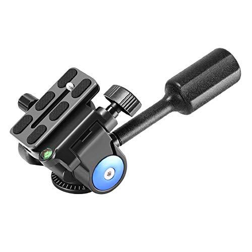 Neewer Heavy Duty Kamera Stativ Griff Kugelkopf mit 1/4 Zoll Schnellwechselplatte, Dreidimensionale 360-Grad-Drehung für Stativ Monopod Slider DSLR-Kamera Camcorder,Belastung bis zu 10 Kilogramm