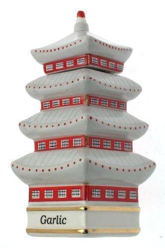 c1993 Danbury épices menthe coréenne du monde-Temple ail CLT693 Pot à épices