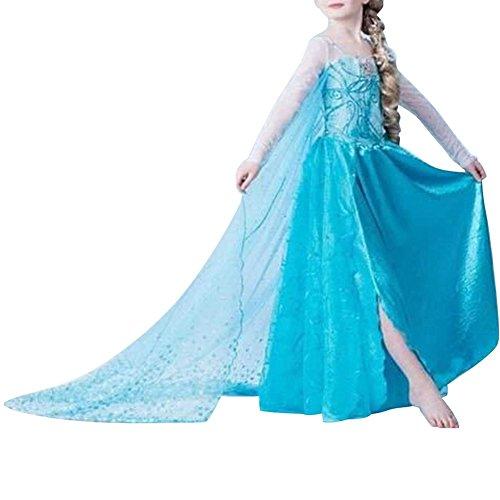 Alva Shop Cacilie® Prinzessin Kostüm Kinder Glanz Kleid Mädchen Weihnachten Verk...