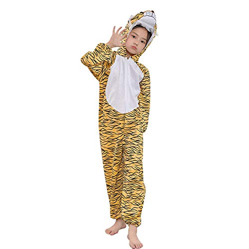 XRRRO Animal Modeling Prestatie Kostuum Leuke Cartoon Cosplay Tijger Stuk pak