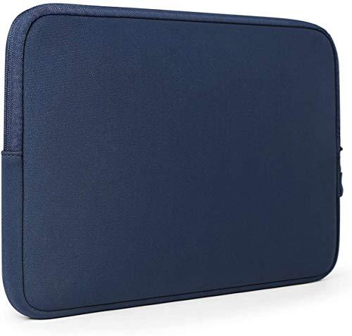 HUYIWEI Funda para ordenador portátil o tablet, iPad de 13 pulgadas, gran capacidad, impermeable, color azul