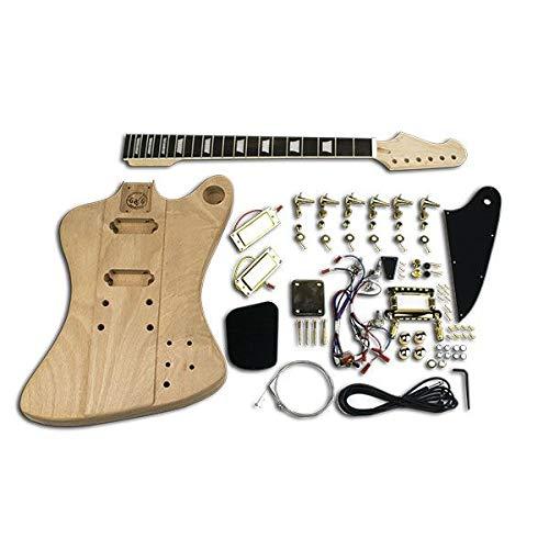 DIY-Gitarre, Firebird Gold, Ebenholz