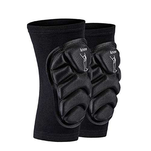 GuanXian Breathable Anti-Slip Elbow Knee Pads Mountain Bike Cycling Protection Set Dancing Knee Brace Support MTB Knee Protector (Size : XS)