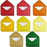 Supla 56 Sets Mini Envelopes with White Blank Note Cards Tiny Envelopes Gift Card Envelopes Business Card Envelopes Little Envelopes in 8 Fall Colors 4' x 2.7' for Fall Party Autumn Wedding Shower