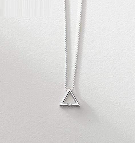 Yiffshunl Collar, Collar, Collar, triángulo, Mujeres, pequeño, Fresco, geométrico, triángulo, Colgante, joyería