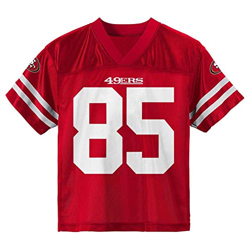 George Kittle San Francisco 49ers #85 Youth 8-20 Home Alternate Player Jersey (George Kittle San Francisco 49ers Home Red, 18-20)