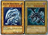 MISKD Blue Eyes White Dragon and Red Eyes B. Dragon! All Rare 40 Card Lot!