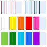 SIQUK 520 Tabs 2 pollici Sticky Tabs Tabs Indicatori di pagina Marcatori colorati Flag Dis...