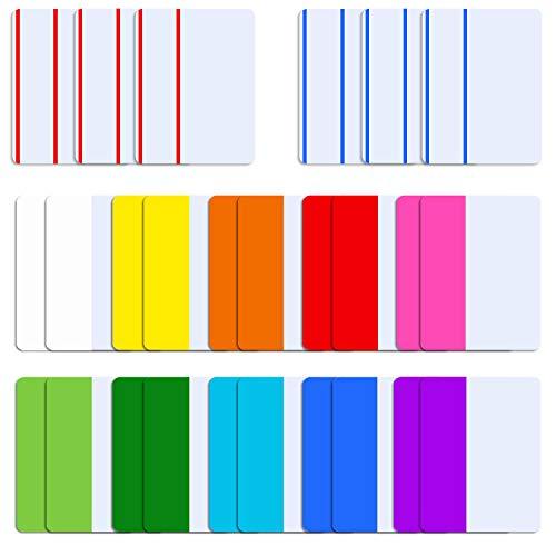 SIQUK 520 Stück Tabs 2 Zoll Sticky Tabs Index Tabs Seite Marker Farbige Tape Flag Dispenser zum Lesen von Notizen, Bücher und Ordner, 13 Sätze 10 Farben