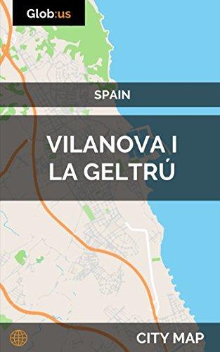Vilanova i la Geltrú, Spain - City Map Idioma Inglés