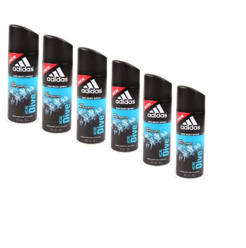 Adidas Adidas Ice Dive Men deo spray 150ml 6er-Pack (6x150ml)