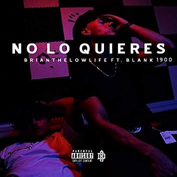 No Lo Quieres (feat. Blank1900)
