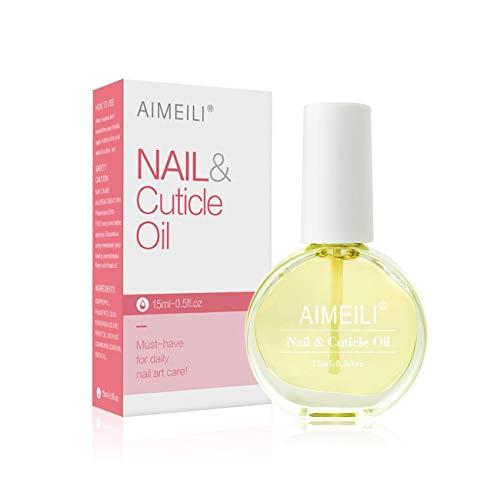 AIMEILI Nail & Cuticle Oil Nagelpflegeöl Nagelöl Pflege für Nägel & Nagelhaut 15ml