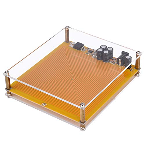 Tangxi DIY 7.83HZ Schumann Wave Generator Ultra-Niederfrequenz-Pulsgenerator, DC 12V/2A 100V-240V Schumann Resonance Pulsgenerator & Audio Resonator