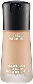 MAC Mineralize Moisture Fluid SPF15 Foundation NC35
