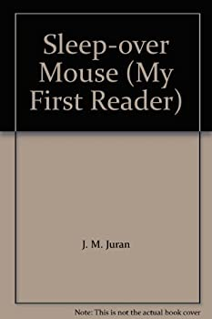 Paperback Sleep-over Mouse (My First Reader) Book