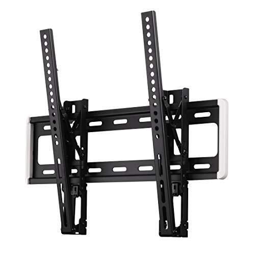 """Hama TV Halterung neigbar -12° (Wandhalterung für Flat TV 32"""" – 56"""", TV Wandhalterung inkl. Fischer Dübel u. Kabelführung, bewegliche Halterung bis VESA 400 x 400, max. 40 kg) schwarz"""