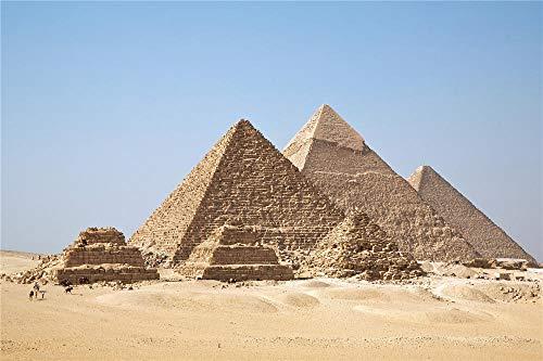 YANCONG Rompecabezas 1000 Piezas, Pirámides De Giza del Antiguo Egipto