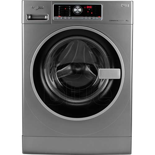 Whirlpool AWG 812 S/PRO Independiente Carga frontal 8kg 1200RPM Negro, Gris - Lavadora (Independiente, Carga frontal, Negro, Gris, Tocar, Izquierda, Negro / Plateado)