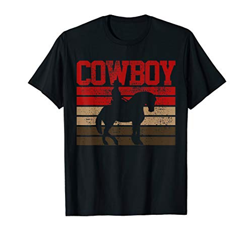 Cowboy Rodeo Horse Gift Country T-Shirt