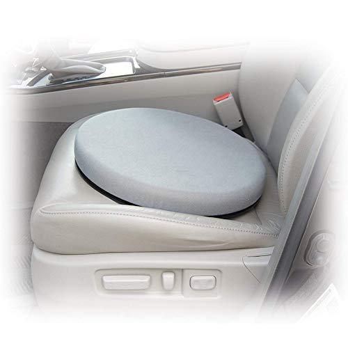 YOUNICER 360 Grad drehbares Memory Foam-Drehkissen Ideal für Auto/Heim/Büro Drehkissen für Autositze Mobilitätshilfe Movingparts