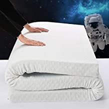 3 Inch Queen Cool Gel Memory Foam Mattress Topper,Soft Luxury Premium Foam, Comfort Body Support & Pressure Relief, Washable Removable Soft Cover,10 Year Warranty