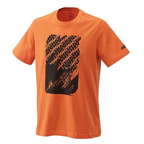 KTM Radical Logo Tee ORANGE Gr. L