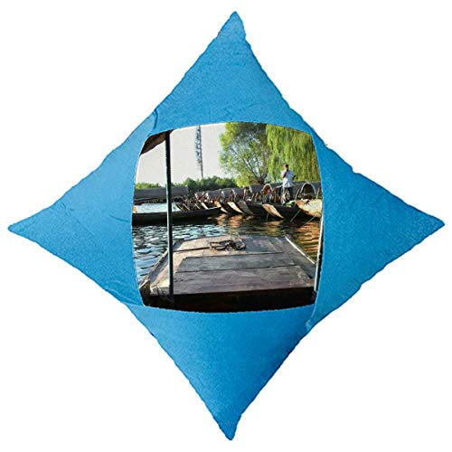 OFFbb-USA - Funda decorativa para cama de coche, diseño de escena de exterior