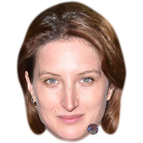 Celebrity Cutouts Julia Piaton Maske aus Karton