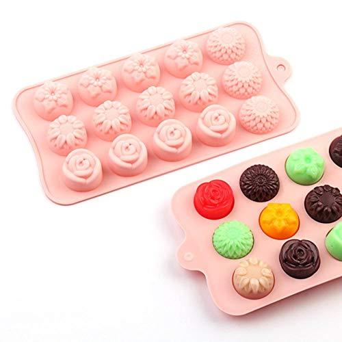 SJYM Siliconen Chocoladevorm non-stick 3D vorm Ijs Mallen Cakevorm Bakvormen Bakken Tools Keuken Gadgets snoep mallen, CP-37