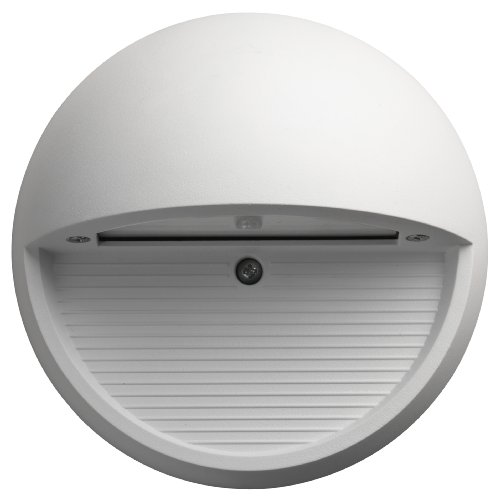 Lithonia Lighting OLSR WH M6  LED Outdoor Step Light Round, 4000K, 9 watts, 370 Lumens, White
