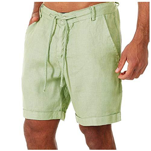 2021 Nuevo Pantalones Cortos Hombre Verano Casual Moda Deporte Running Pants Jogging Original Color sólido Cortos Pantalon Fitness Gym Suelto Ropa de Hombre Cómodo Pantalones de Playa Shorts
