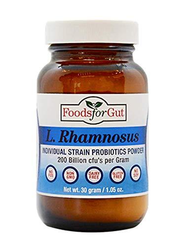 Lactobacillus Rhamnosus Probiotic Powder 200 Billion cfu's 30 Gram   Digestive & Immune Support   High Potency   L. Rhamnosus