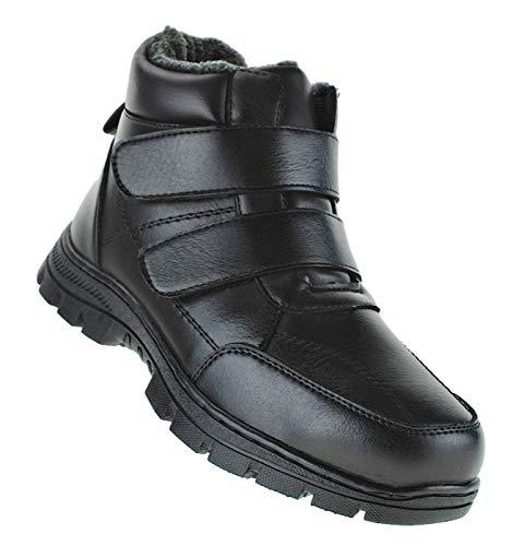 Bootsland 132 Winterstiefel Herren Stiefel Winterschuhe Herrenstiefel Herren, Schuhgröße:41