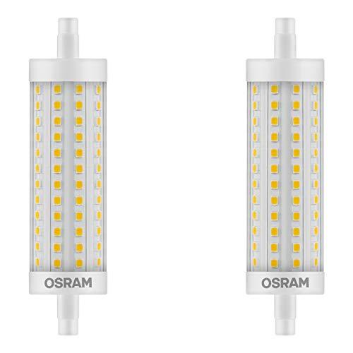OSRAM LED STAR LINE R7s STAB 12,5W=100W 1521lm warm white 2700K 118mm nondim 2er