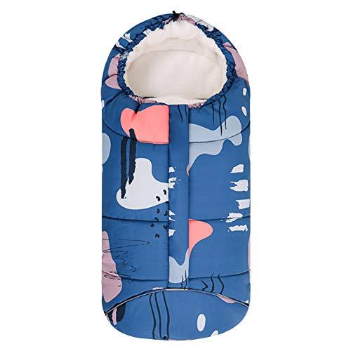 Saco de dormir para cochecito de bebé, resistente al viento