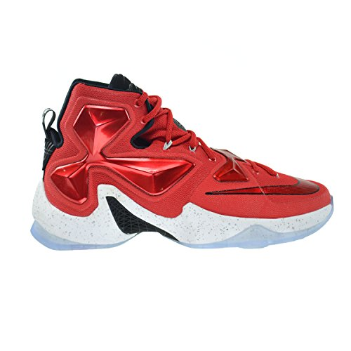 Nike Lebron XIII Men's Shoes University Red/White-Black-Laser Orange 807219-610 (11 D(M) US)