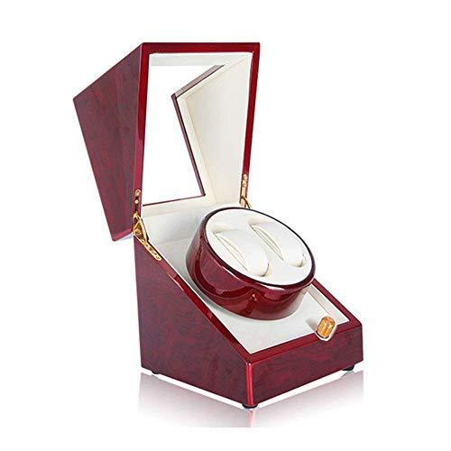 CCAN Devanadera de Reloj enrolladora de Reloj Unisex automática, Cajas de Almacenamiento enrolladora de Reloj 2 Relojes Rolex