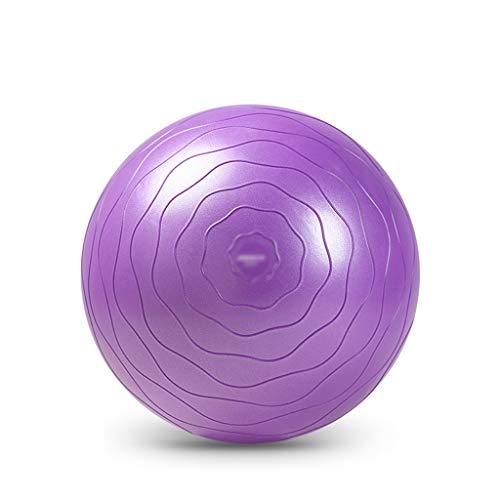 Lingling Gymnastikball für Yoga Balance Fitness Stabilität Physiotherapie und verbessert das Gleichgewicht Dicker Yoga Ball Stuhl mit Schnellpumpe, Anti-Burst Stabilitätsball