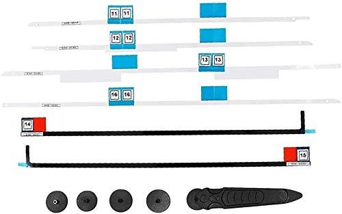 OLVINS Klebestreifen für LCD-Display Klebeband + Öffnungsradgriff LCD-Bildschirm entfernen Tools Kit Ersatz für iMac 27