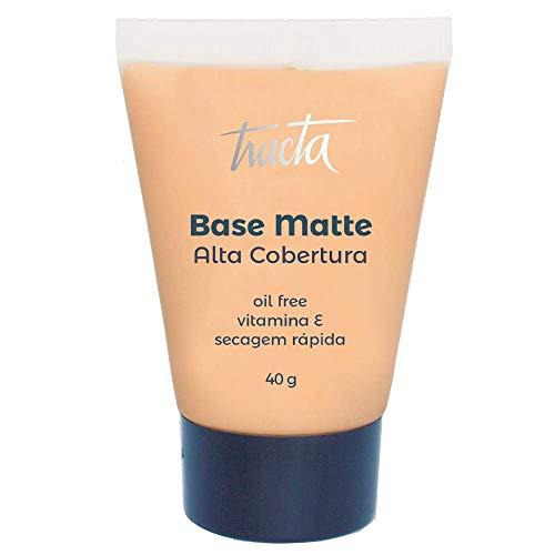 Base Matte Alta Cobertura 02C, Tracta, Pele