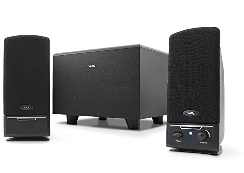Cyber Acoustics 2.1 PC computer speakers with subwoofer (CA-3000)