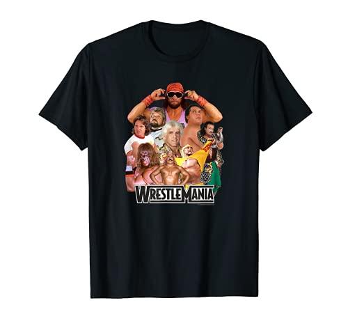 WWE Wrestlemania Collage T-Shirt