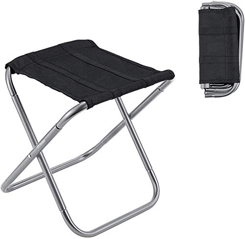 Mini Portable Folding Stool,Folding Camping Stool,Ultra Light Outdoor Slacker Chair,for BBQ, Party,Camping,Fishing, Travel, Hiking, Garden,Beach