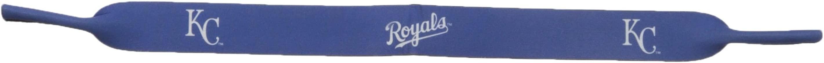Siskiyou MLB Kansas City Royals Neoprene Sunglass Strap, Blue
