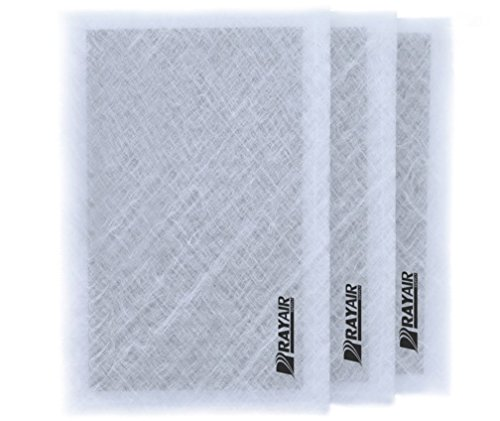 Find Discount RAYAIR SUPPLY 20×21-5/8 Air Ranger Replacement Filter Pads 20×21-5/8 (3 Pack) White